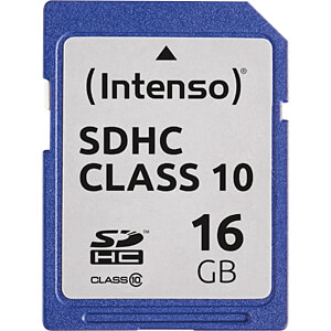 INTENSO 3411470 - SDHC-Speicherkarte 16GB