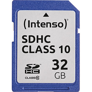 INTENSO 3411480 - SDHC-Speicherkarte 32GB