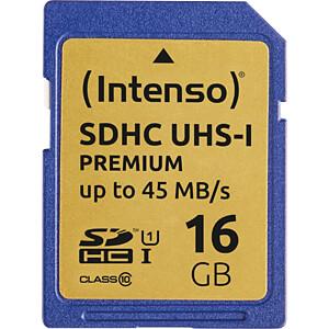 INTENSO 3421470 - SDHC-Speicherkarte 16GB