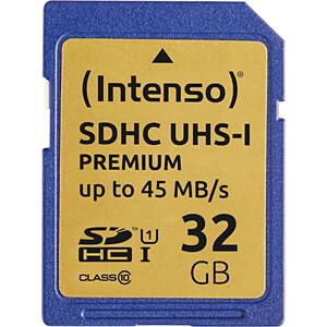 INTENSO 3421480 - SDHC-Speicherkarte 32GB