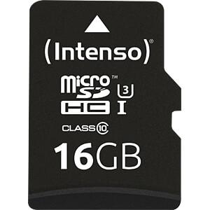 INTENSO 3433470 - MicroSDHC-Speicherkarte 16GB