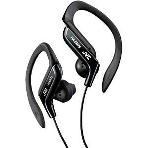 Sport Style-Ear-Clip-Stereokopfhörer, schwarz JVC HA-EB75-B-E