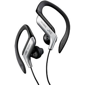 Sport Style-Ear-Clip-Stereokopfhörer, silber JVC HA-EB75-S-E
