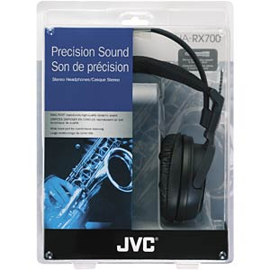 High-quality stereo headphones JVC HA-RX700