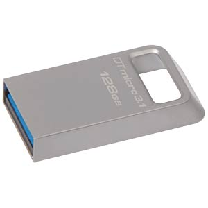 DataTraveler Micro 3.1 USB 3.0 stick, 128 GB KINGSTON DTMC3/128GB