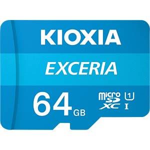 MicroSDXC-Speicherkarte 64GB, Exceria KIOXIA LMEX1L064GG2