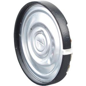 Plastic speaker, soldered connection EKULIT 107050