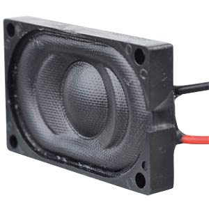 Plastic speaker, wired EKULIT 130005