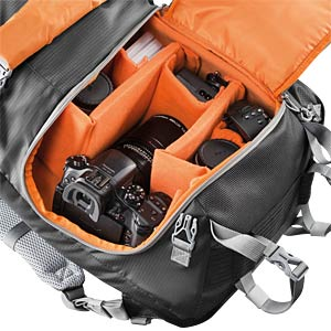 Photo Backpack, black MANTONA 20586
