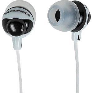 MONOPRICE 108321 - Ohrhörer im Knopf-Design