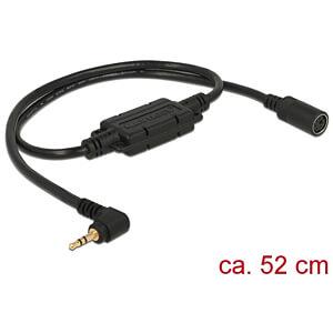 NAVILOCK 62923 - MD6 Buchse ser. > 2,5 mm 3 Pin Klinke 90° LVTTL (3,3 V) 52 cm