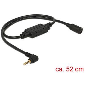 NAVILOCK 62924 - MD6 Buchse ser. > 2,5 mm 4 Pin Klinke 90° LVTTL (3,3 V) 52 cm