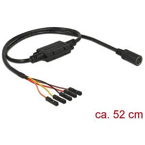 NAVILOCK 62929 - MD6 ser. > 2,54 mm Pfostenbuchse 5 Pin LVTTL (3,3 V) PPS 52 cm