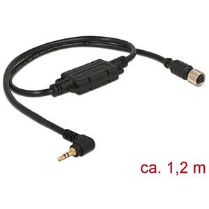 NAVILOCK 62933 - M8 Buchse ser. wasserd. > 2,5 mm 3 Pin Klinke 90° LVTTL (3,3 V)