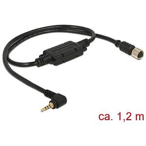NAVILOCK 62935 - M8 Buchse ser. wasserd. > 2,5 mm 4 Pin Klinke 90° LVTTL (3,3 V)