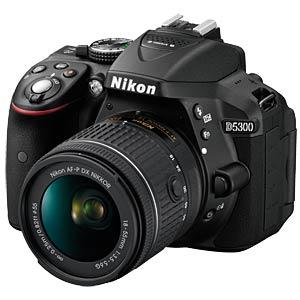 Nikon D5300 Kit + AF-P 18-55 VR NIKON VBA370K007