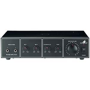 100-V mixer amplifier, 20 W RMS/40 W MAX MONACOR 17.1320