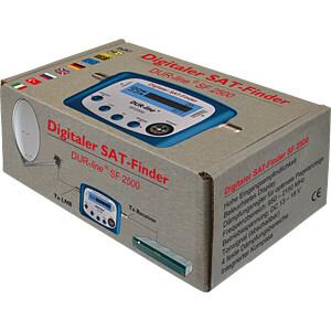 Pegelmessgerät, Satmessgerät, LCD Anzeige DUR-LINE 100520