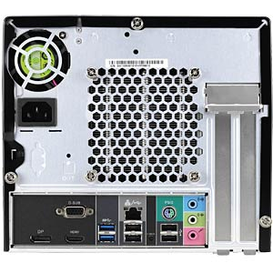 Mini-PC with Intel H110 Chipset SHUTTLE PC-SH110R411
