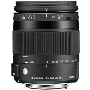 18-200mm F3,5-6,3 / Nikon SIGMA 885955