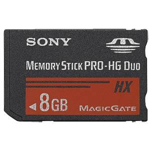 Memory Stick PRO-HG Duo HX 8 GB SONY MSHX8B