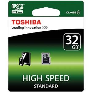 MicroSDHC-Card 32GB - Toshiba Class 4 TOSHIBA THN-M102K0320M2