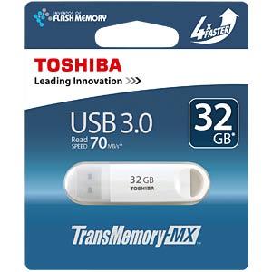 USB3.0-Stick 32GB Toshiba U361 Weiß TOSHIBA THN-U361W0320M4