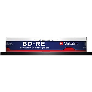 BD-RE / 25GB / 10er Spindel VERBATIM 43694