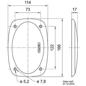 VISATON protective grille VISATON 4645