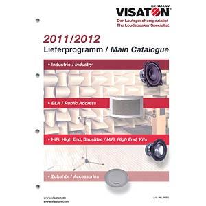 VISATON Gesamtprogramm VISATON