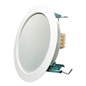 VISATON ceiling-mounted speaker, 100 volt, 17 cm, white VISATON 50104