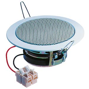 VISATON ceiling-mounted speaker, 5cm, white VISATON 50097