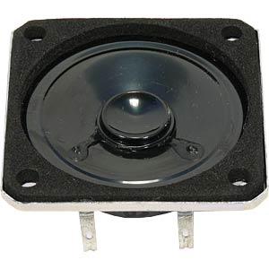 VISATON miniature speaker, 5 cm, square VISATON 2897