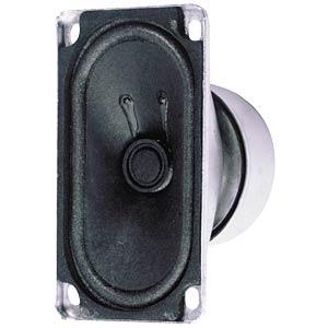 VISATON Breitbandlautsprecher, oval VISATON 8006