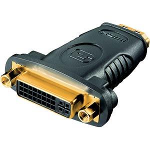 Adapter, HDMI Buchse auf DVI Buchse FREI
