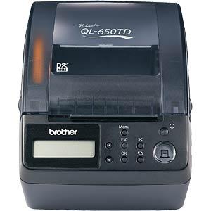 Brother Etikettendrucker / USB & seriell BROTHER QL650TDG1
