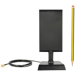 LTE Antenna SMA with Stand Black DELOCK 88992