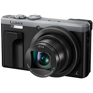 Digitalkamera, 18,1 MP, 30x Zoom, silber PANASONIC DMC-TZ81EG-S