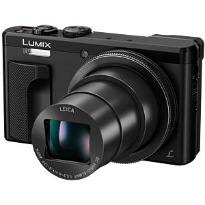 Digitalkamera, 18,1 MP, 30x Zoom, schwarz PANASONIC DMC-TZ81EG-K