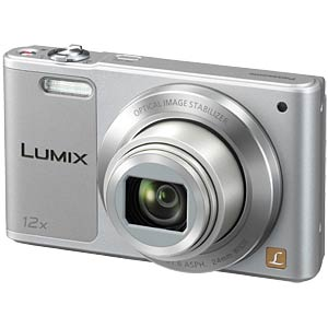 Digital camera, 16MP, 12x zoom, silver PANASONIC DMC-SZ10EG-S