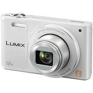 Digital camera, 16MP, 12x zoom, white PANASONIC DMC-SZ10EG-W