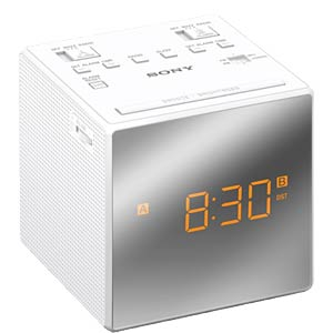 MW/UKW-Uhrenradio SONY ICFC1TW.CED