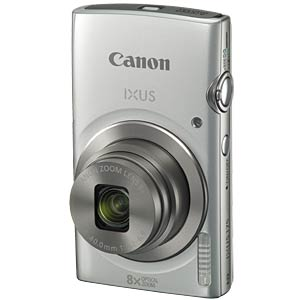 Digital camera, 20 MP, 8x zoom, silver CANON 1094C001