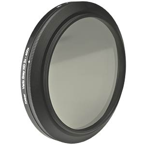 Variable neutral density filter, 37 mm KAISER FOTOTECHNIK 15437