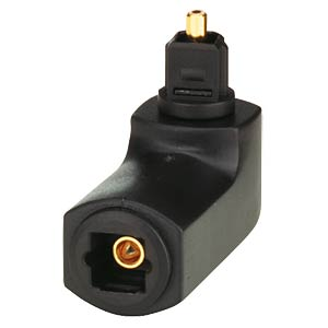 Toslink Adapter, Toslink Stecker auf Toslink Kupplung FREI