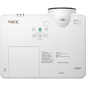 Projektor / Beamer, 3800 lm, WUXGA (1.920 x 1.200) NEC 60004598