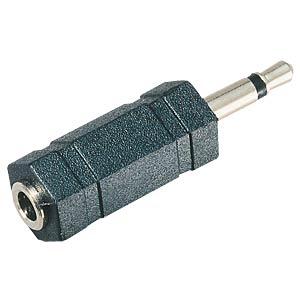 3,5 mm Mono Klinken Stecker auf 3,5 mm Stereo Klinken Buchse FREI