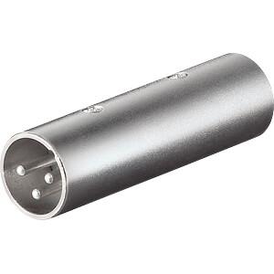 XLR plug to XLR plug. FREI