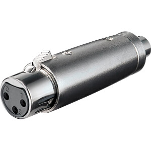 XLR socket to RCA socket. FREI