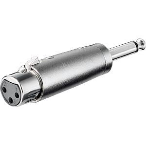 XLR Buchse auf 6,3 mm Mono Klinken Stecker FREI